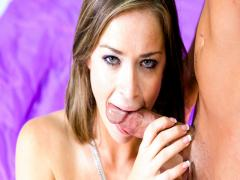Sierra Sure Knows How To BJ! Check How She Does It Here!