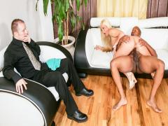 Hot wife needs a good fucking & finds it from a black man!