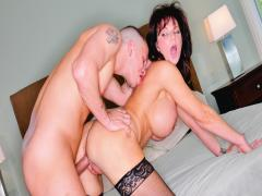 Deauxma Seduced Her Friend With Her Big Boobs To Fuck Him!