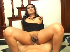 Sexy tranny get some god hard cock and get her ass fucked