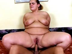 BBW Getting Her Tight Fat Ass Drilled Hardcore