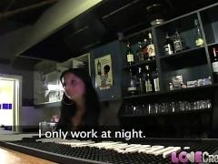 Barmaid Unwanted Creampie